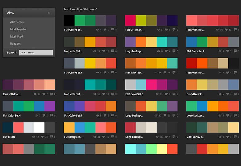 סטים של צבעים